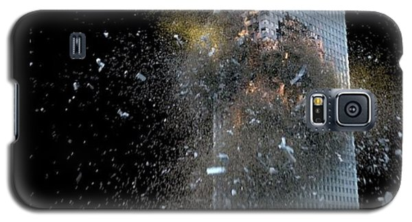 Building_explosion Galaxy S5 Case by Marcia Kelly
