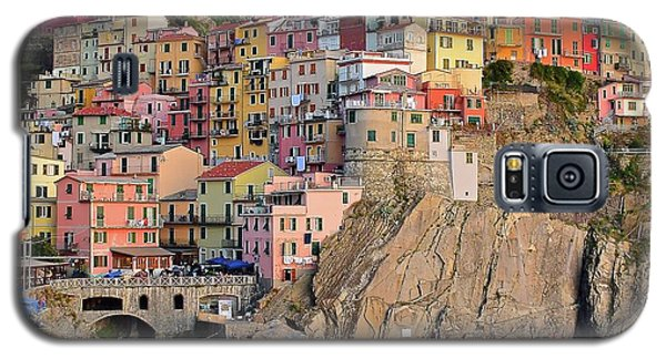 Galaxy S5 Case featuring the photograph Built On The Slope by Frozen in Time Fine Art Photography