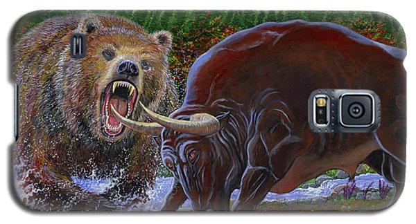 Bull And Bear Galaxy S5 Case
