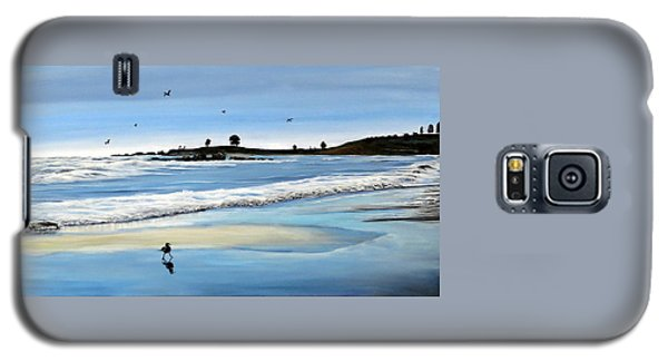 Bull Beach 2 Galaxy S5 Case by Marilyn McNish