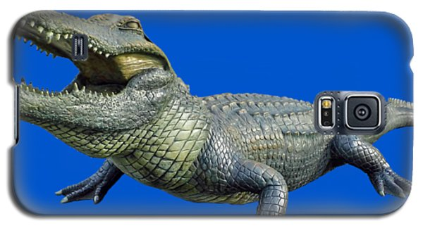 Bull Gator Transparent For T Shirts Galaxy S5 Case