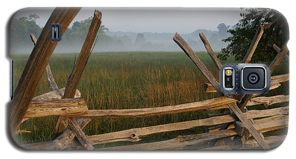 Galaxy S5 Case featuring the photograph Bull Run Virginia by Heidi Poulin