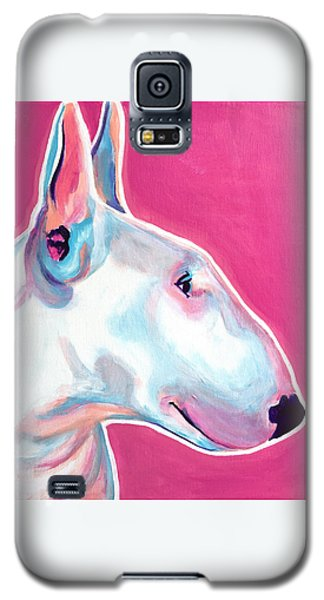 Bull Terrier - Bubblegum Galaxy S5 Case