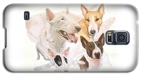 Bull Terrier W/ghost Galaxy S5 Case