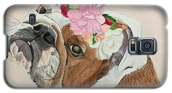 Bulldog Bridesmaid Galaxy S5 Case