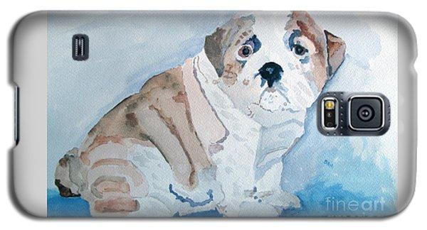Bulldog Puppy Galaxy S5 Case