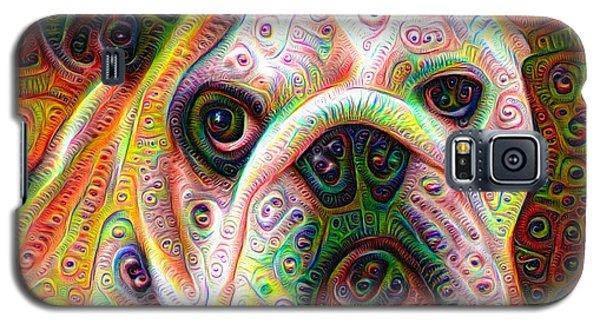 Bulldog Surreal Deep Dream Image Galaxy S5 Case