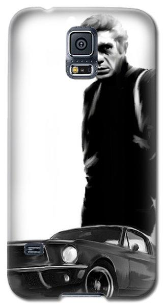 Bullitt Cool  Steve Mcqueen Galaxy S5 Case