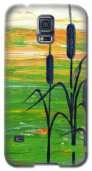 Bullrushes Galaxy S5 Case
