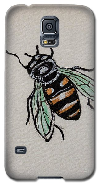 Bumble Bee Galaxy S5 Case by Elizabeth Robinette Tyndall
