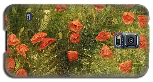 Bunch Of Poppies Galaxy S5 Case