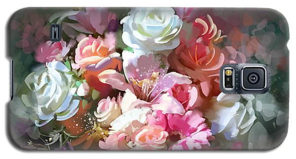 Bunch Of Roses Galaxy S5 Case