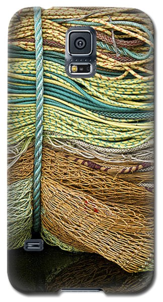 Bundle Of Fishing Nets And Ropes Galaxy S5 Case by Carol Leigh