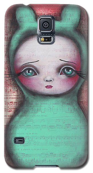 Bunny Girl Galaxy S5 Case by Abril Andrade Griffith