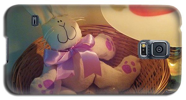 Bunny In A Basket Galaxy S5 Case