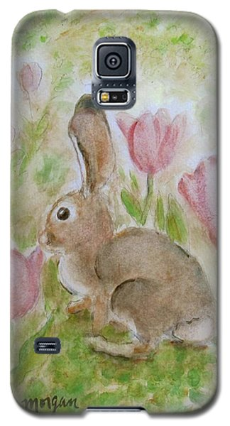 Bunny In The Tulips Galaxy S5 Case
