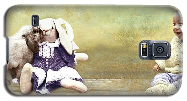 Bunny Kisses Doll Galaxy S5 Case