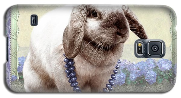 Bunny Wears Beads Galaxy S5 Case