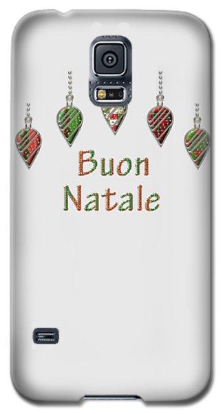 Buon Natale Italian Merry Christmas Galaxy S5 Case