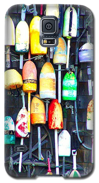 Galaxy S5 Case featuring the photograph Buoy Art by Bill Holkham