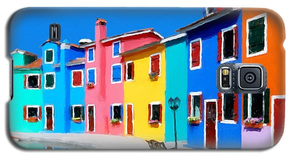 Burano Houses.  Galaxy S5 Case