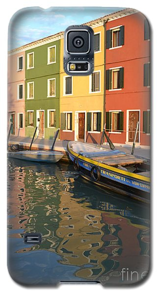 Galaxy S5 Case featuring the photograph Burano Italy 1 by Rebecca Margraf
