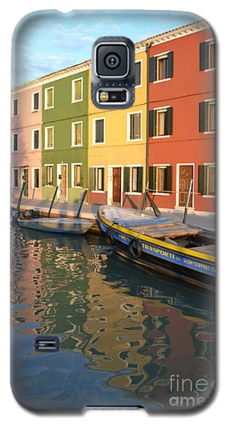 Burano Italy 1 Galaxy S5 Case by Rebecca Margraf