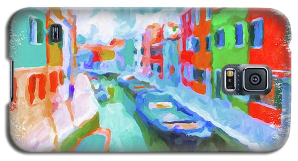 Burano, Venice, Italy Galaxy S5 Case by Chris Armytage