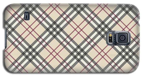 Burberry Pattern Galaxy S5 Case