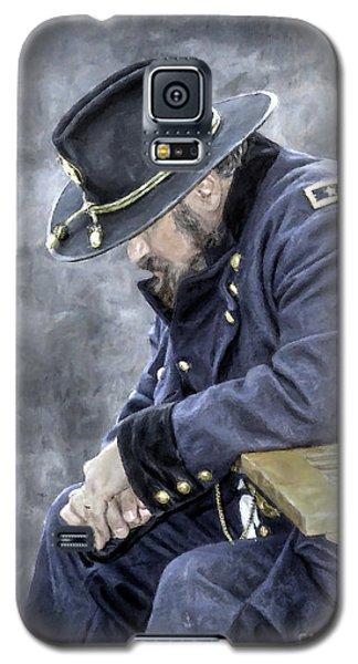 Burden Of War Civil War Union General Galaxy S5 Case by Randy Steele