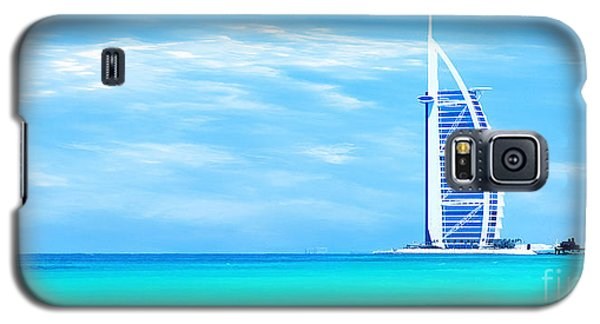 Burj Al Arab Hotel On Jumeirah Beach In Dubai Galaxy S5 Case