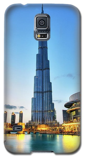 Burj Khalifa Sunset Galaxy S5 Case