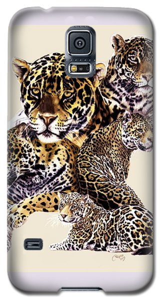 Galaxy S5 Case featuring the drawing Burn by Barbara Keith