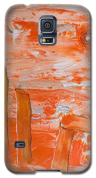 Burning Bay Galaxy S5 Case