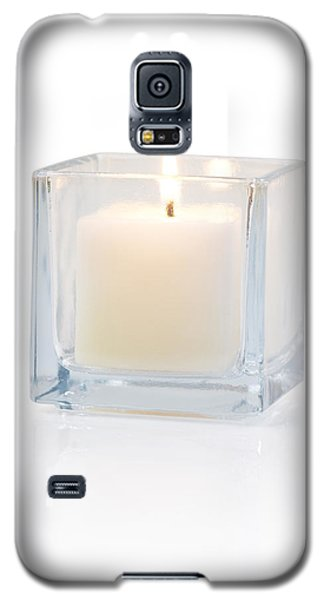 Burning Candle Side View 20 Degree Galaxy S5 Case