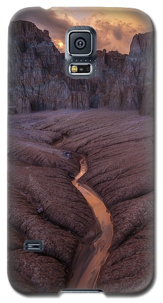 Burning Cathedral  Galaxy S5 Case