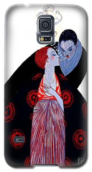 Galaxy S5 Case featuring the photograph Burning Desire 1919 by Padre Art