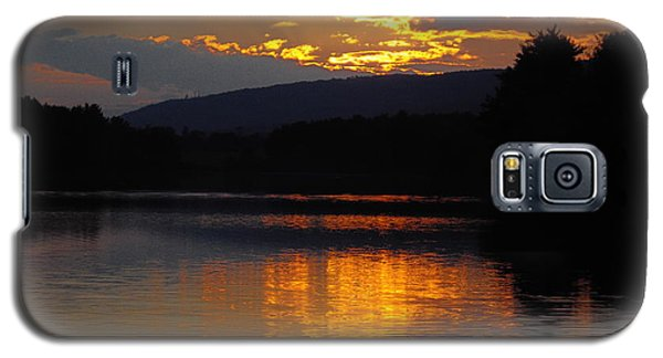 Galaxy S5 Case featuring the photograph Burning Gold by Vilas Malankar