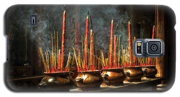 Burning Incense Galaxy S5 Case