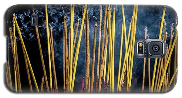 Burning Joss Sticks Galaxy S5 Case