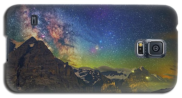 Burning Skies Galaxy S5 Case