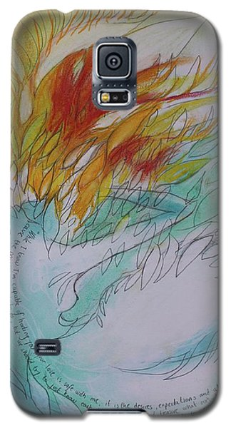 Burning Thoughts Galaxy S5 Case by Marat Essex