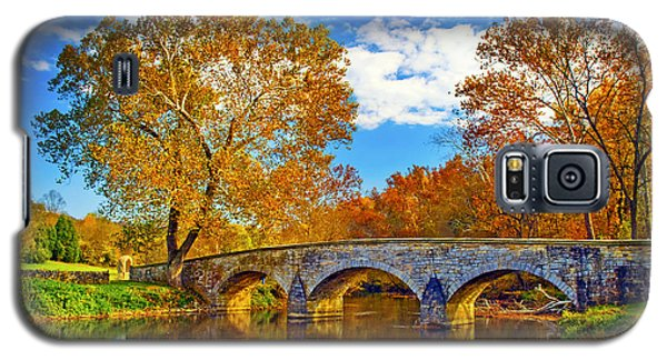 Burnside Bridge At Antietam Galaxy S5 Case by Paul W Faust -  Impressions of Light