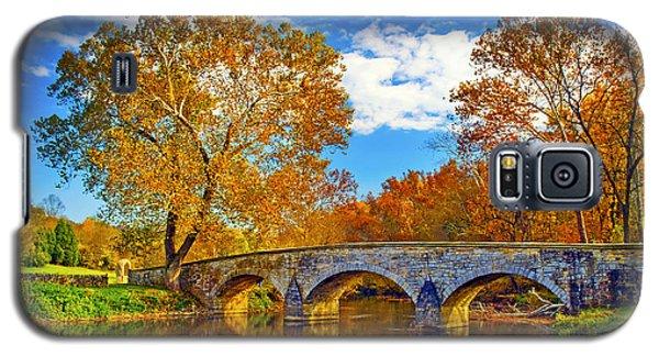 Burnside Bridge At Antietam Galaxy S5 Case