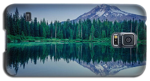 Burnt Lake Reflection Galaxy S5 Case
