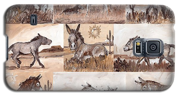 Burros Of The South West Sampler Galaxy S5 Case