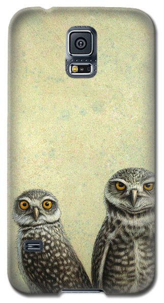 Burrowing Owls Galaxy S5 Case by James W Johnson