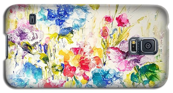 Burst Of Spring  Galaxy S5 Case