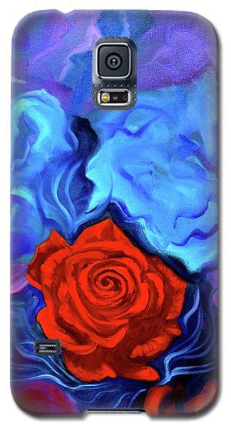 Bursting Rose Galaxy S5 Case by Jenny Lee