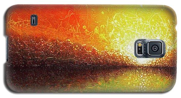 Bursting Sun Galaxy S5 Case